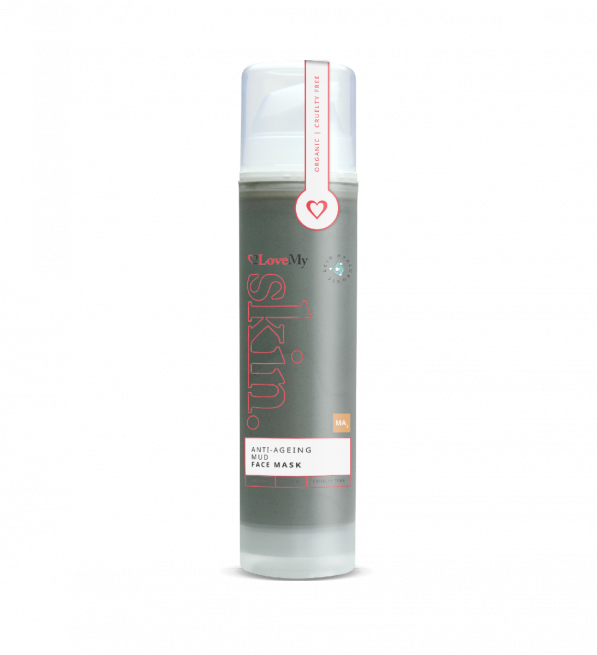 anti-ageing mud face mask 50ml bottle