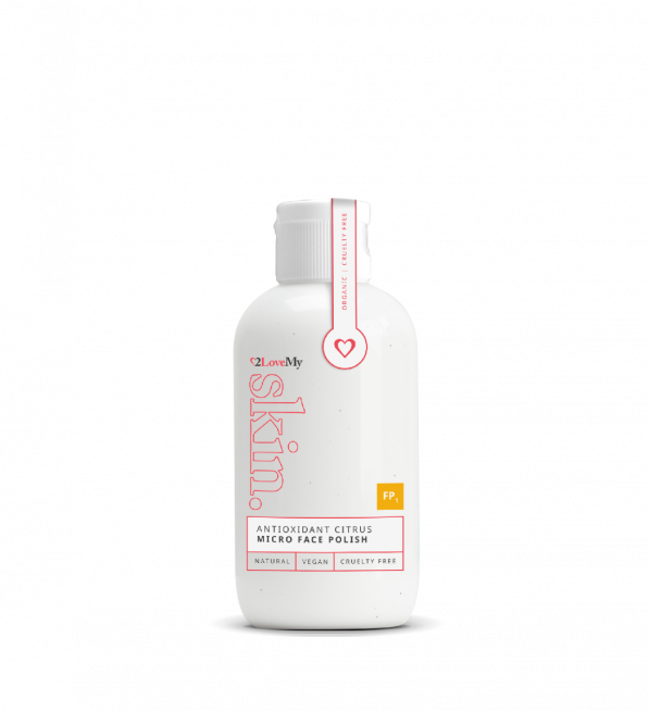 antioxidant citrus micro face polish 100ml bottle
