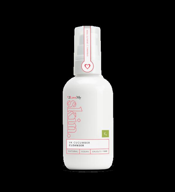 Vitamin K Cucumber Cleanser 100ml bottle