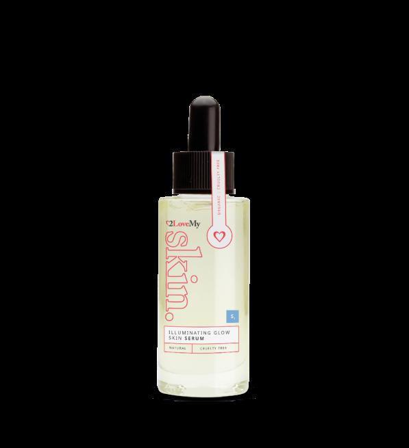 illuminating glow skin serum 30ml bottle