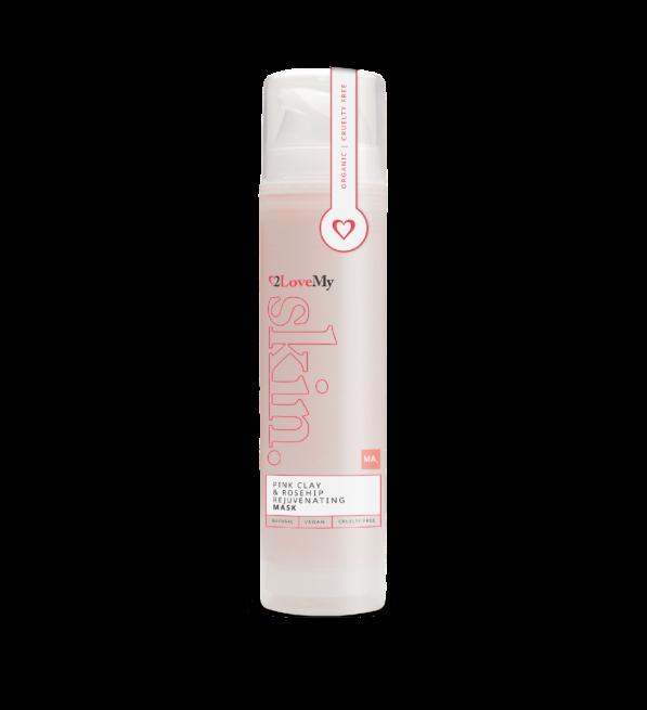 Pink Clay & Rosehip rejuvenating mask 50ml bottle