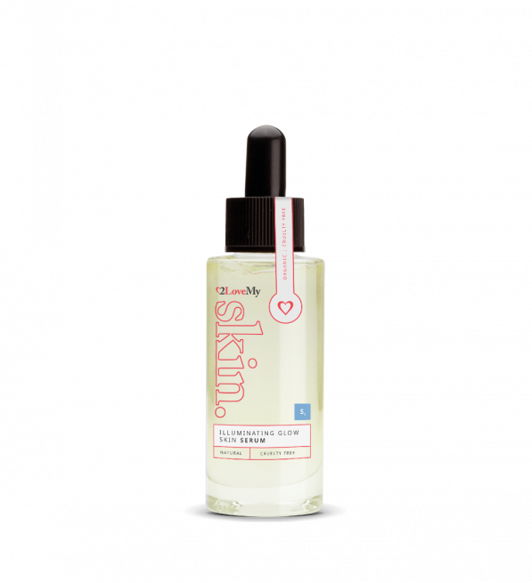 illuminating glow skin serum 30ml bottle